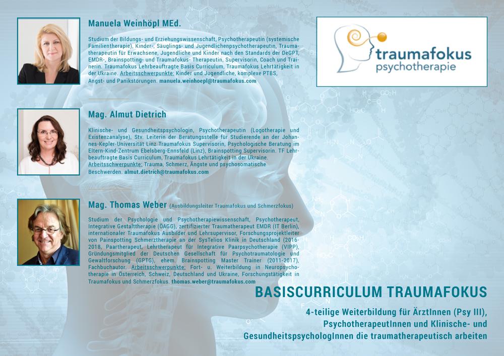 Traumafokus Psychotherapie